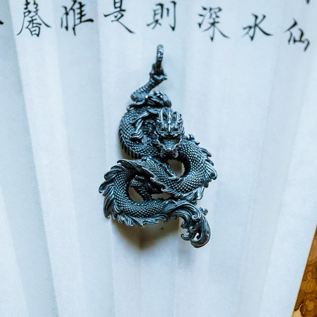 Silver Dragon // Pendant // Silver