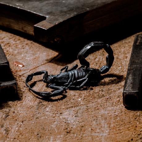 Silver Scorpion // Pendant // Silver