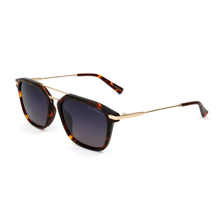 Men's TL905S S02 Polarized Sunglasses // Havana + Gold