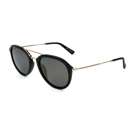 Men's TL903S S03 Polarized Sunglasses // Black + Gold