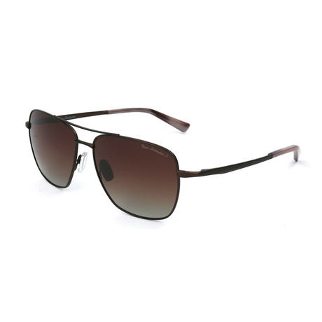 Men's TL904S S02 Polarized Sunglasses // Brown