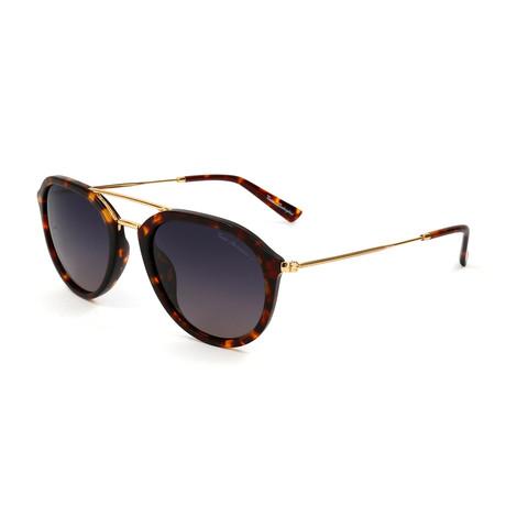 Men's TL903S S01 Polarized Sunglasses // Havana + Gold