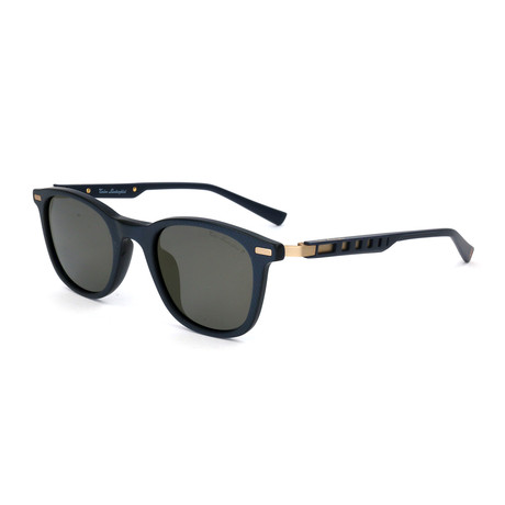 Men's TL310S S02 Polarized Sunglasses // Blue + Gold