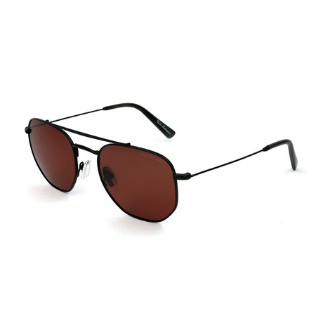 Men's TL331S S03 Polarized Sunglasses // Black + Brown