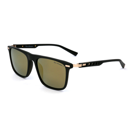 Men's TL911S S01 Polarized Sunglasses // Black + Gold