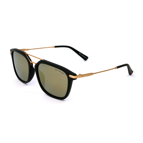 Men's TL905S S03 Polarized Sunglasses // Black + Gold
