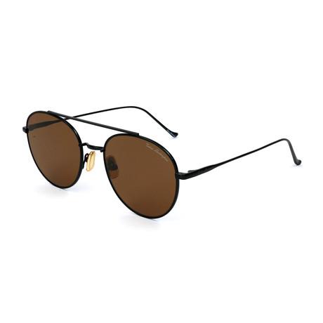 Men's TL900S S03 Sunglasses // Black + Brown