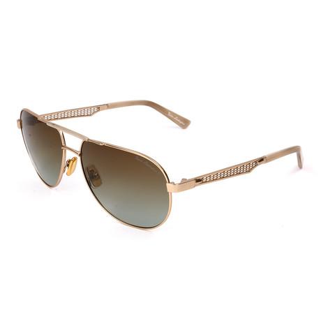 Men's TL330S S01 Polarized Sunglasses // Gold