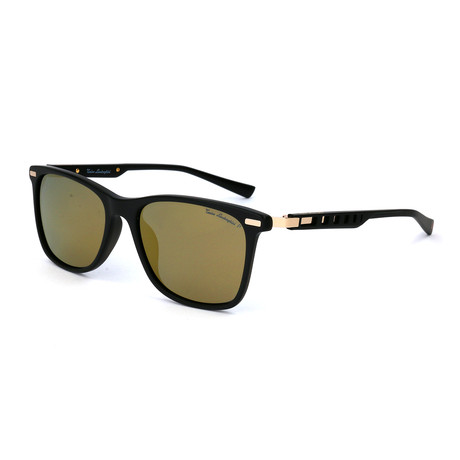 Men's TL309S S01 Polarized Sunglasses // Black + Gold