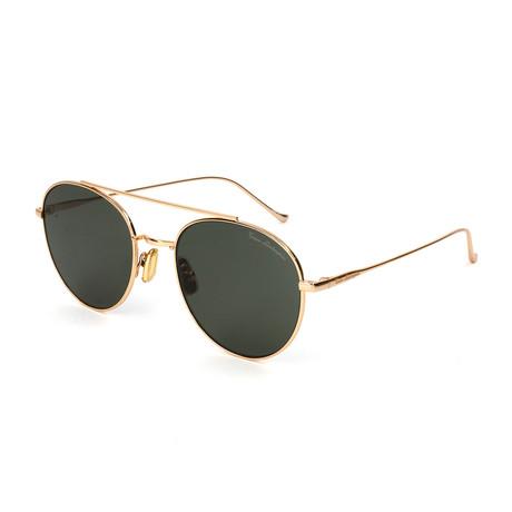 Men's TL900S S01 Sunglasses // Gold + Black