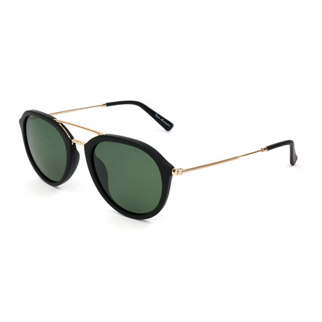 Men's TL903S S02 Polarized Sunglasses // Black + Gold