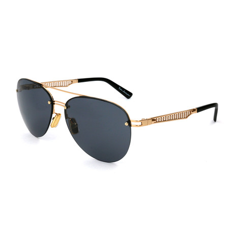 Men's TL603S S01A Sunglasses // Gold + Black