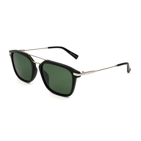 Men's TL905S S01 Polarized Sunglasses // Silver + Black