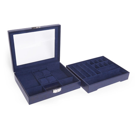 The Edwin Stackable Jewelry Box + Tray