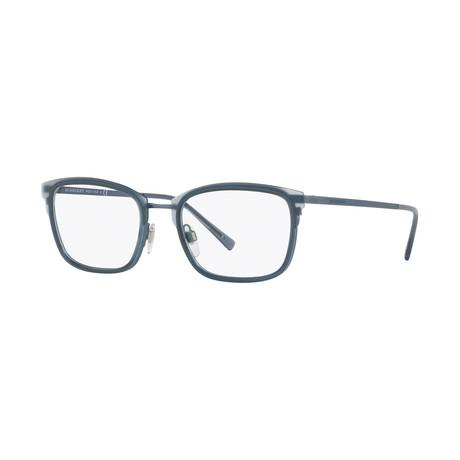 Burberry // Men's Optical Frames // Matte Blue