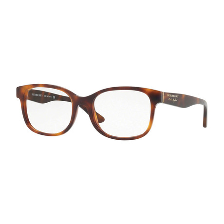 Burberry // Men's Optical Frames // Light Havana