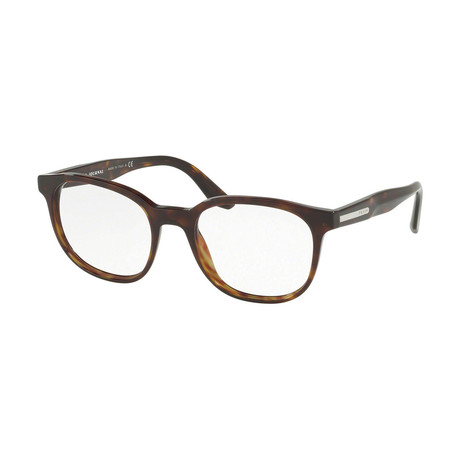 Prada // Men's Optical Frames // Dark Havana