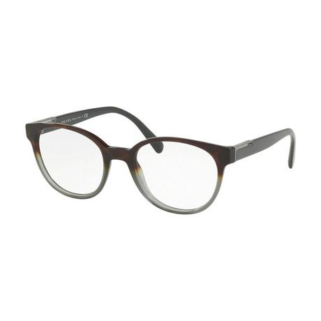 Prada // Men's Optical Frames // Havana + Gray