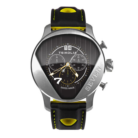 Tsikolia Seven Racing Chronograph Quartz // TW7-6-100-1-19