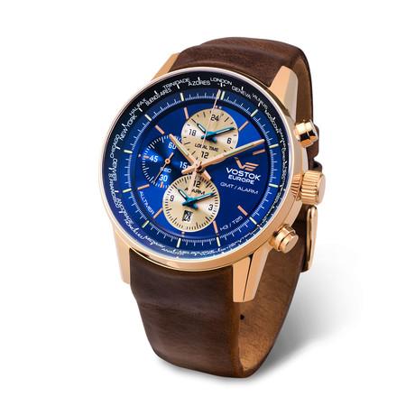 Vostok Europe Gaz Limo Chronograph Quartz  // YM86/565B293