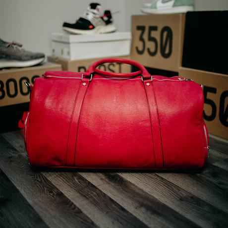 Duffle Bag // Red