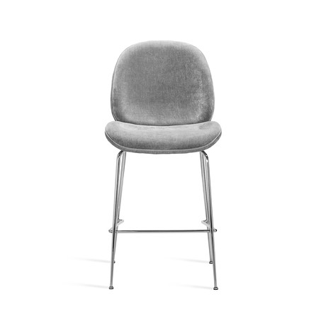 Luna Counter Stool (Ocean Gray)