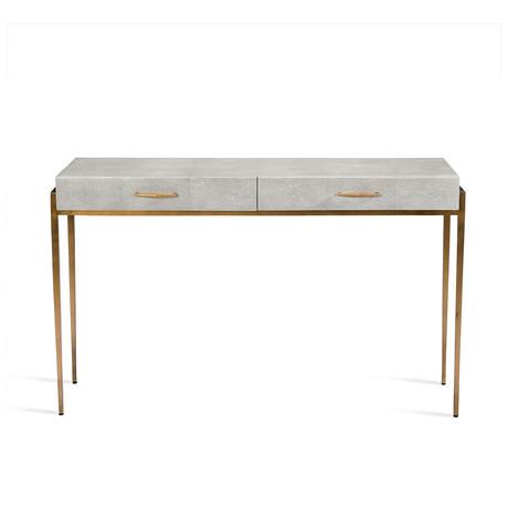 Morand Console Desk (Gray)