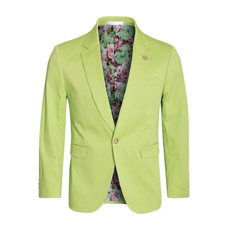 Cotton Stretch Fashion Blazer // Apple (S)