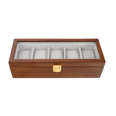 William Watch Box // 5 Slots