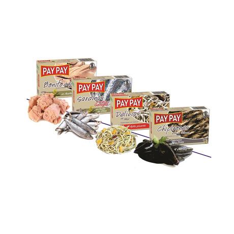 Tapas Tins // Tuna + Sardines + Baby Eels + Stuffed Squid