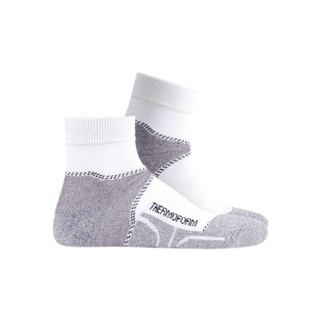 Canyon Socks // White (4-5)