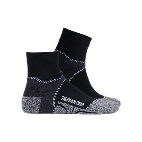 Canyon Socks // Black (4-5)