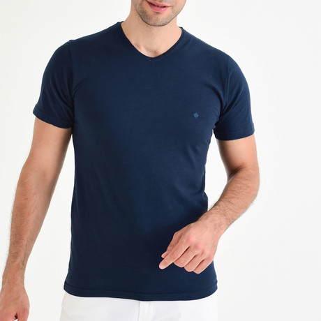 Jason Shirt // Navy Blue (XS)
