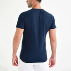 Jason Shirt // Navy Blue (M)