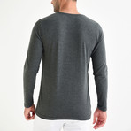 Nile Long Sleeve T-Shirt // Anthracite (XL)