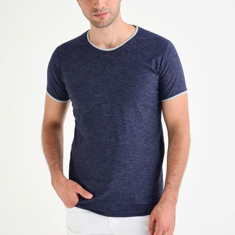 Mason T-Shirt // Navy Blue (S)