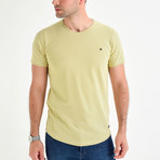 Dot T-Shirt // Yellow (S)