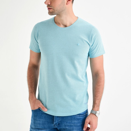 Dot T-Shirt // Mint (XS)