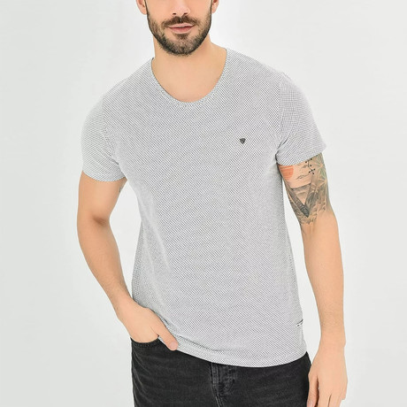 Dot T-Shirt // White (XS)