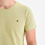 Dot T-Shirt // Yellow (M)