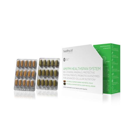 AM/PM Healthspan System // 30-Day Supply