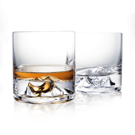 The Incredible Everest Whiskey Glass // Set of 2