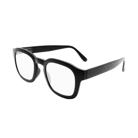Unisex Sy Blue-Light Blocking Readers // Black (+0.00)
