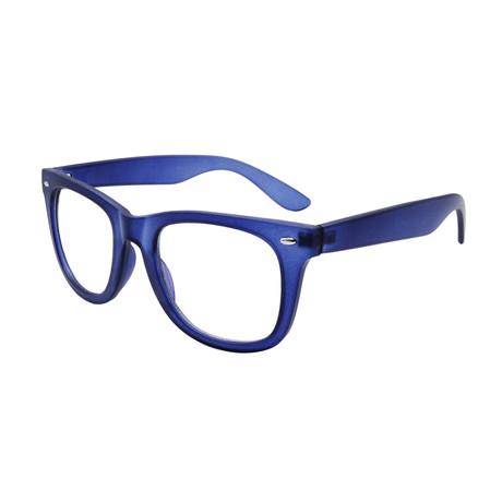 Unisex Elwood Blue-Light Blocking Readers // Blue (+0.00)