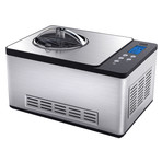2 Qt Ice Cream Maker + Yogurt Incubator with Stainless Steel Bowl