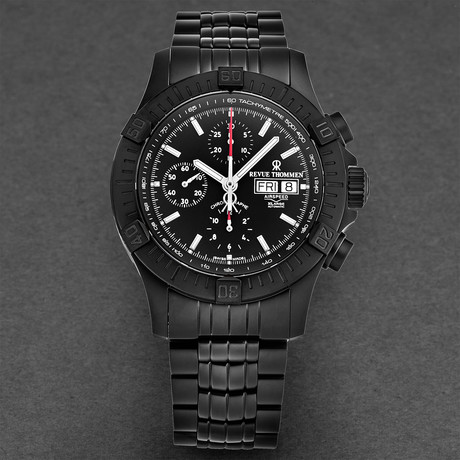 Revue Thommen Airspeed Chronograph Automatic // 16071.6177