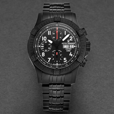 Revue Thommen Airspeed Xlarge Chronograph Automatic // 16071.6174 // New