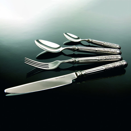 Baroque // 16-Piece Precision-Forged Flatware Set