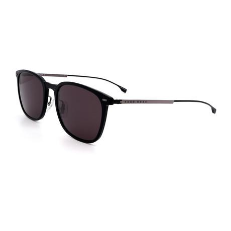 Hugo Boss // Men's 0974-S-0807 Square Sunglasses // Black