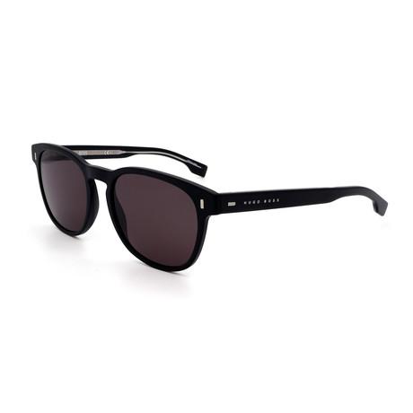 Hugo Boss // Men's 0927-S-003 Sunglasses // Matte Black